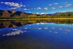 Krajobraz w Północna Ameryka obrazy stock