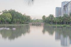 Krajobraz w parku Obrazy Stock