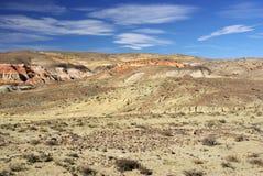 Krajobraz w Patagonia Zdjęcia Royalty Free