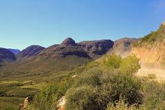 Krajobraz w Południowa Afryka Zdjęcia Royalty Free
