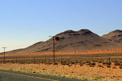 Krajobraz w Południowa Afryka Zdjęcie Royalty Free
