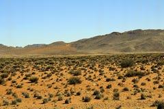 Krajobraz w Południowa Afryka Fotografia Royalty Free