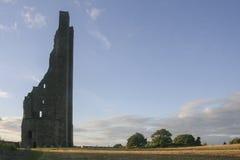 Krajobraz w podstrzyżenie kasztelu, północnym - Ireland zdjęcie royalty free