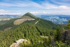 Krajobraz w Rarau górach obraz stock