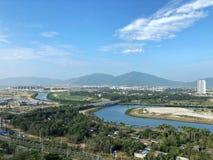 Krajobraz w Sanya, Chiny zdjęcia stock