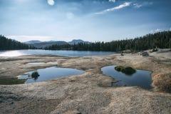 Krajobraz w sierra Nevada góry Obrazy Royalty Free