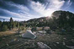 Krajobraz w sierra Nevada góry Zdjęcie Stock