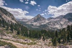 Krajobraz w sierra Nevada góry Zdjęcia Royalty Free
