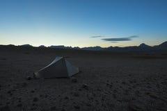 Krajobraz w sierra Nevada góry Fotografia Stock