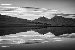 Krajobraz w sierra Nevada góry Obrazy Stock