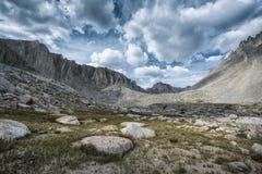 Krajobraz w sierra Nevada góry Obraz Royalty Free