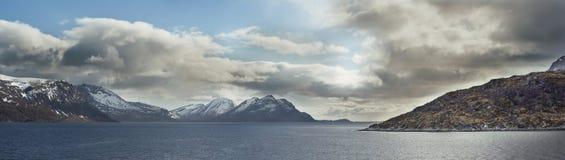 Krajobraz W Spitsbergen Obrazy Royalty Free