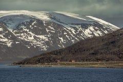 Krajobraz W Spitsbergen Obraz Stock