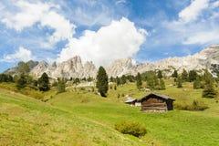Krajobraz w Sudtirol Fotografia Royalty Free