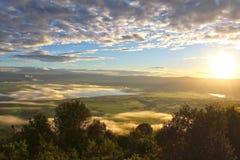 Krajobraz w Tanzania Zdjęcie Stock