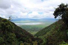 Krajobraz w Tanzania Zdjęcia Royalty Free