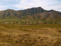 Krajobraz w Uzbekistan Fotografia Royalty Free