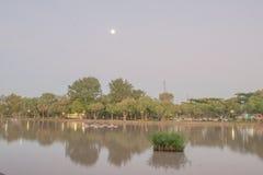 Krajobraz w świcie Fotografia Royalty Free