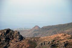 Krajobraz w wyspach kanaryjska Fotografia Stock