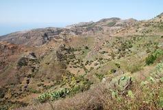 Krajobraz w wyspach kanaryjska Obraz Stock