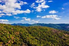 Krajobraz Widok Górski Zdjęcia Stock