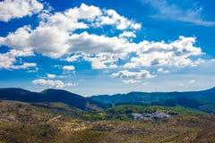 Krajobraz Widok Górski Zdjęcie Royalty Free
