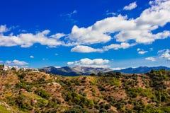 Krajobraz Widok Górski Fotografia Stock