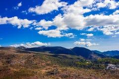 Krajobraz Widok Górski Obrazy Stock