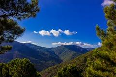 Krajobraz Widok Górski Zdjęcie Stock
