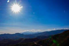 Krajobraz Widok Górski Obrazy Royalty Free