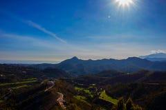 Krajobraz Widok Górski Zdjęcia Royalty Free
