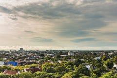 Krajobraz widok w Chiang Mai prowinci, północ Tajlandia zdjęcia royalty free