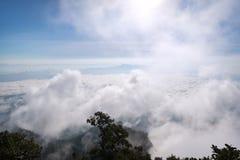 Krajobraz widzieć od Doi Luang Chiang Dao Obrazy Royalty Free