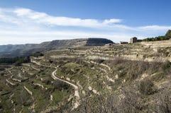Krajobraz wokoło Ares Del Maestre Obraz Stock