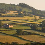 krajobraz wsi Fotografia Royalty Free