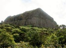 Krajobraz wyspa Flores Azores, Portugalia Zdjęcie Stock