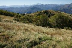 Krajobraz z górami Zdjęcie Royalty Free