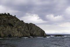 Krajobraz z pięknym nadbrzeże wizerunkiem Fotografia Royalty Free