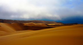 Krajobraz z piasek diunami blisko Swakopmund, Namibia fotografia royalty free