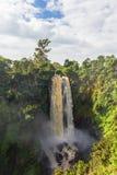Krajobraz z siklawą w zieleni Thompson siklawa Kenja, Afryka Fotografia Stock