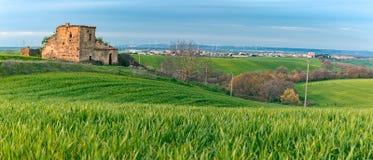 Krajobraz Zieleni wzgórza Zdjęcie Royalty Free