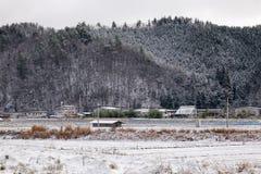 Krajobraz zima Zdjęcia Stock