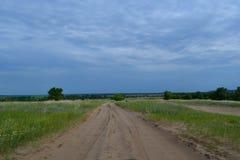 Krajobrazowa droga gruntowa Fotografia Stock