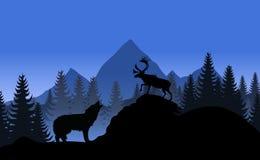 krajobrazowa góra ilustracja wektor