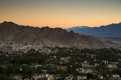 Krajobrazowa góra, północny India Zdjęcia Stock