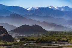 Krajobrazowa góra, północny India Zdjęcia Royalty Free