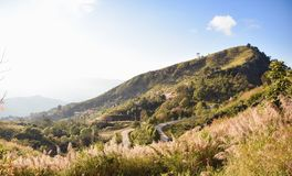 Krajobrazowa góra przy Chiang raja Zdjęcia Royalty Free
