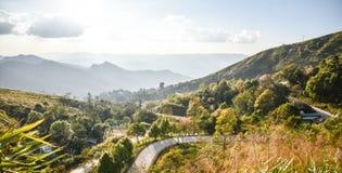Krajobrazowa góra przy Chiang raja Fotografia Royalty Free