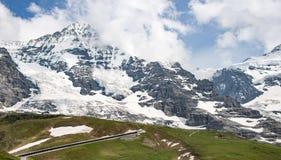 Krajobrazowa góra w Szwajcaria Fotografia Stock
