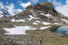 Krajobrazowa góra w Szwajcaria Obraz Royalty Free